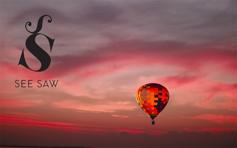 See Saw Hot Air Balloon and Prosecco Breakfast